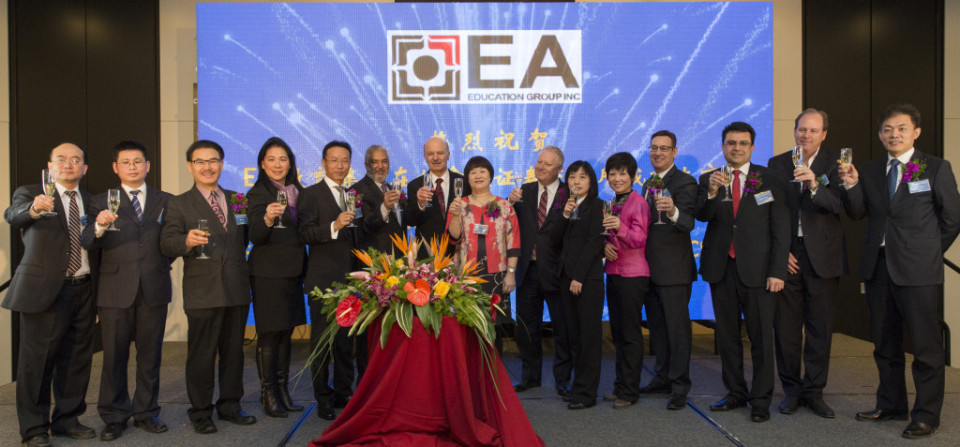 EA Listing Celebration Ceremony